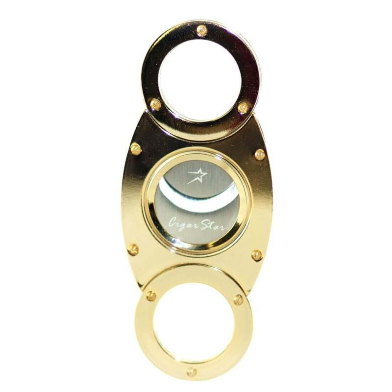 Gold enamel cigar cutter