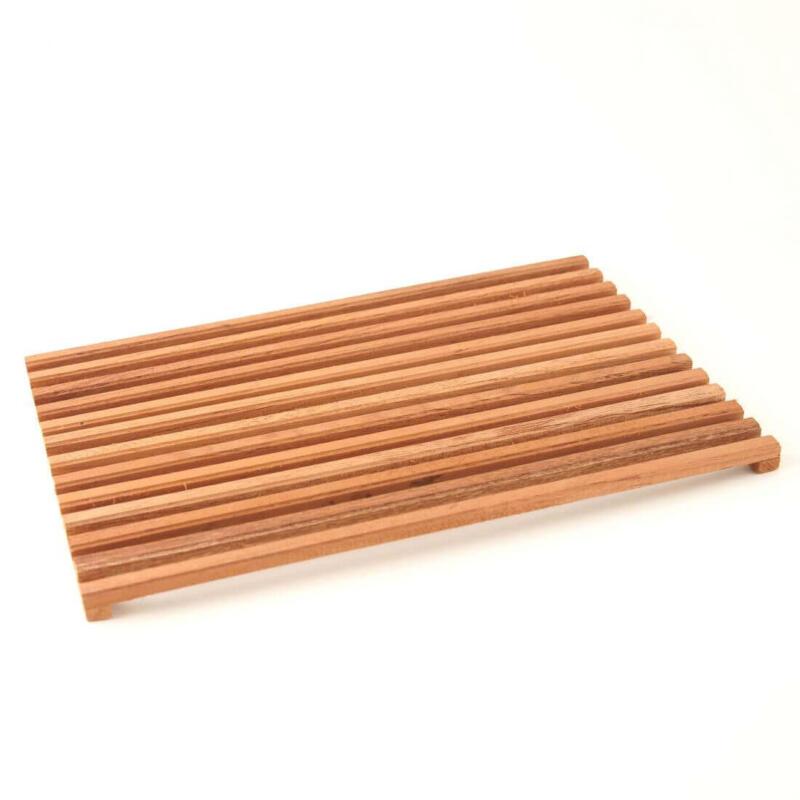 Spanish cedar flow rack