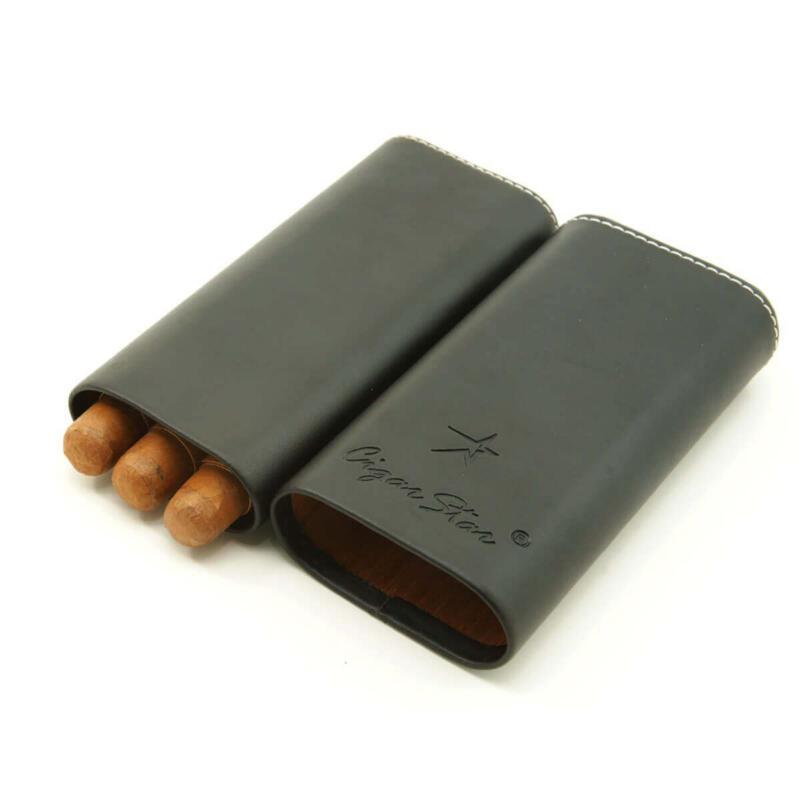 Cigar Star Leather cigar case
