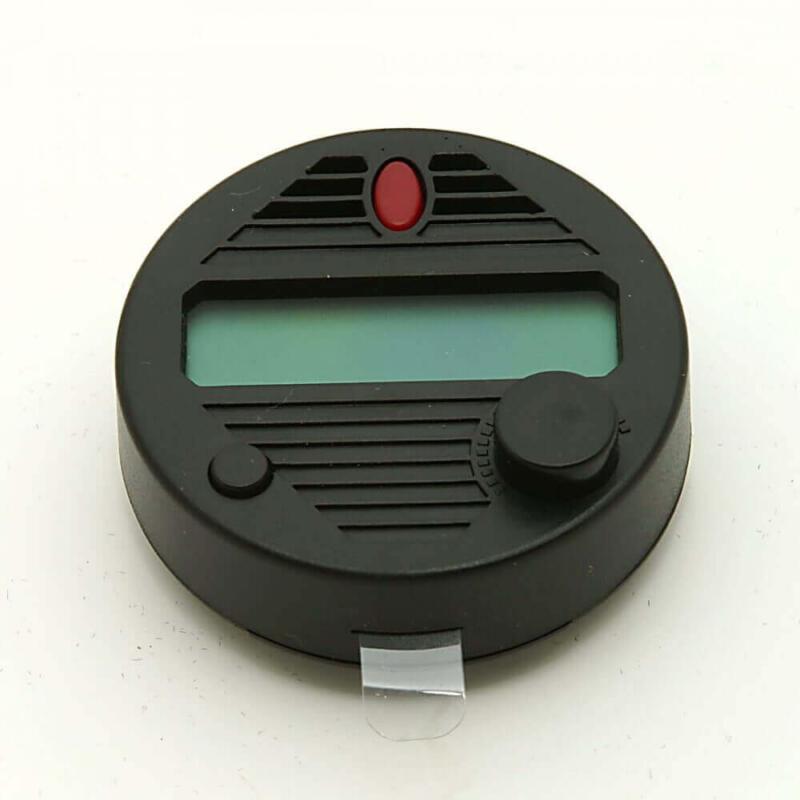 round digital hygrometer