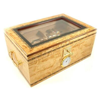 Birch Burl Dreams Cigar Star Limited Edition Humidor