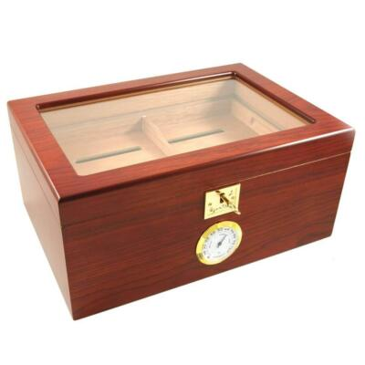 Glass top Humidor