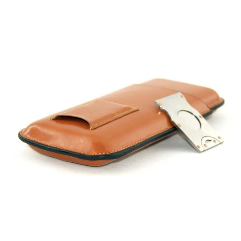 Cigar case tan