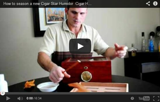 how to activate a new humidor