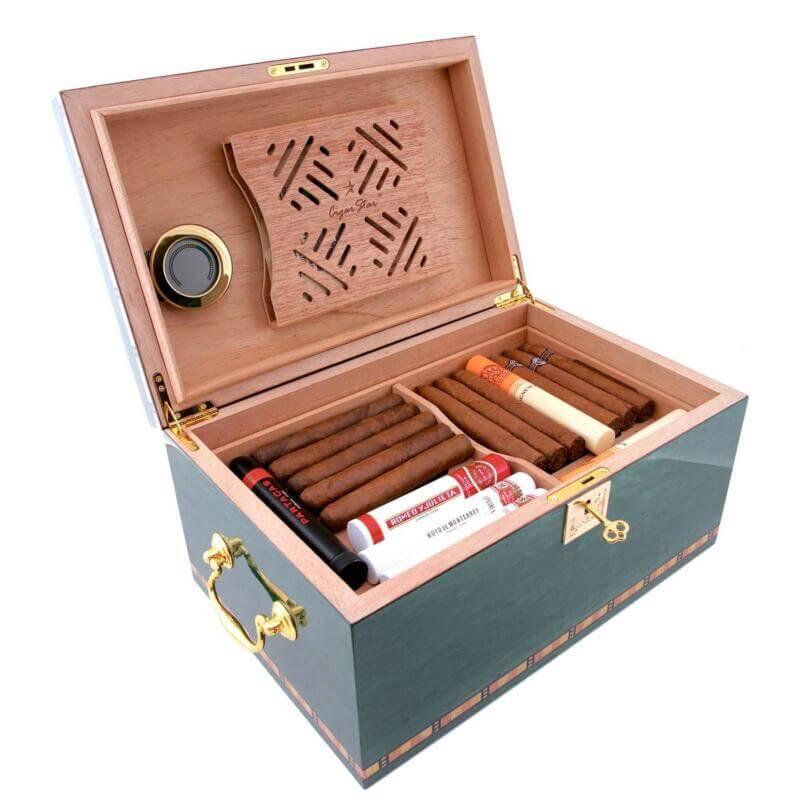 Blu Havana cigar humidor