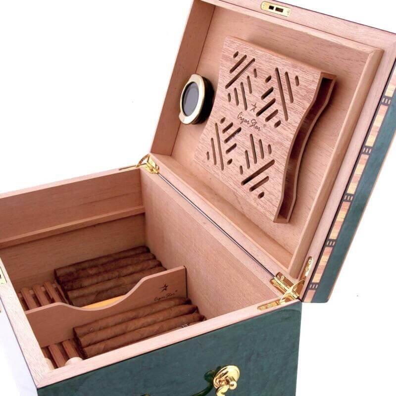 Cigar humidor blue havana