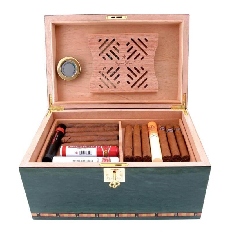 Cigar humidor blu Havana