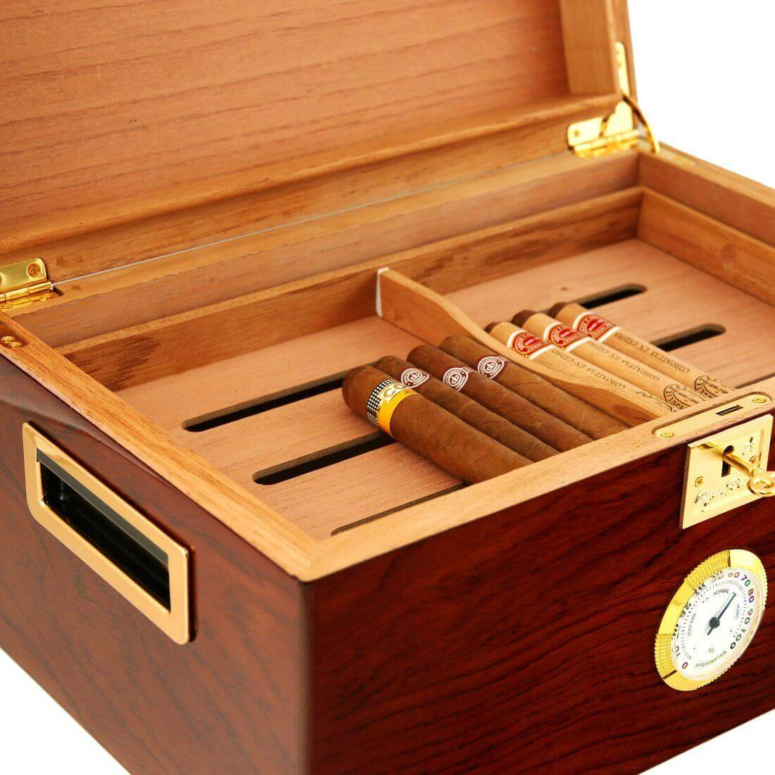 How long can a cigar last inside a cigar humidor?