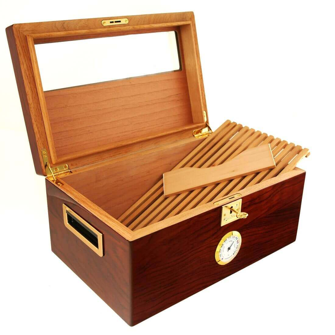 GLASS LID HUMIDOR | Cigar Star | Buy Online In Canada Cigar Star