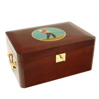 The Golfer cigar Humidor