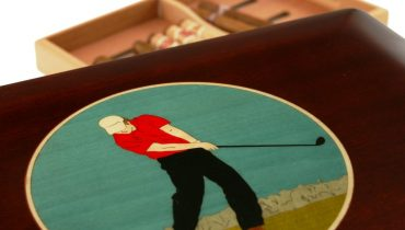 Our Ultimate Golfer  150 Cigar Humidor