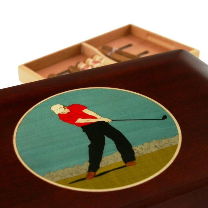 Ultimate Golfer 150 Cigar Humidor Limited Edition