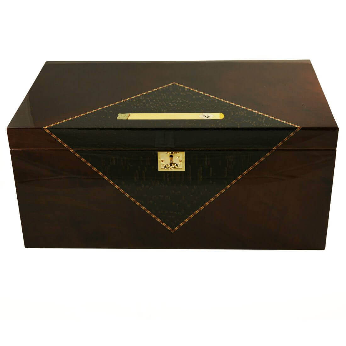 how to build a large cigar humidor