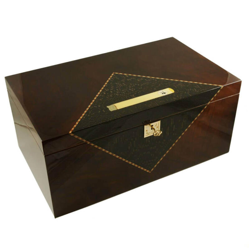 Cigar Humidor Colossal Royal 350-400 Limited Edition with electronic humidifier.