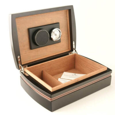 Matt Black cigar humidor