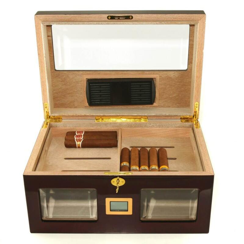 cigar humidor brown