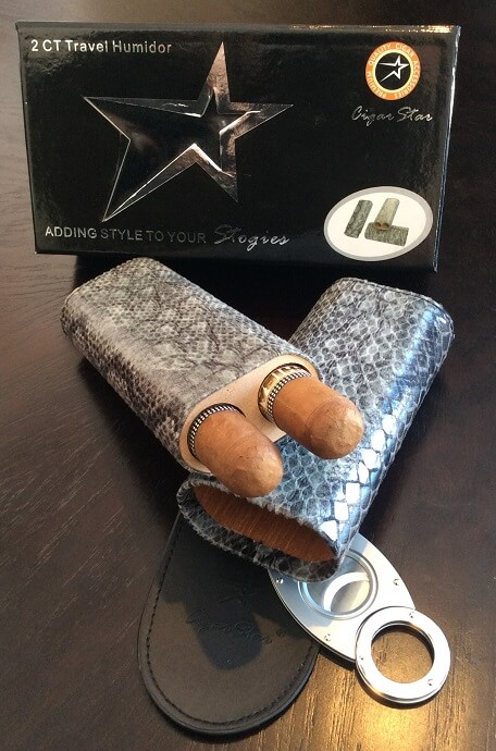 Cigar Star Cigar Cases are great for Golfing!!