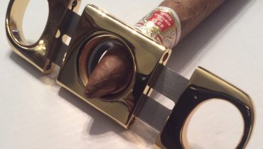 New Heavy Duty Double Guillotine Cigar Cutter