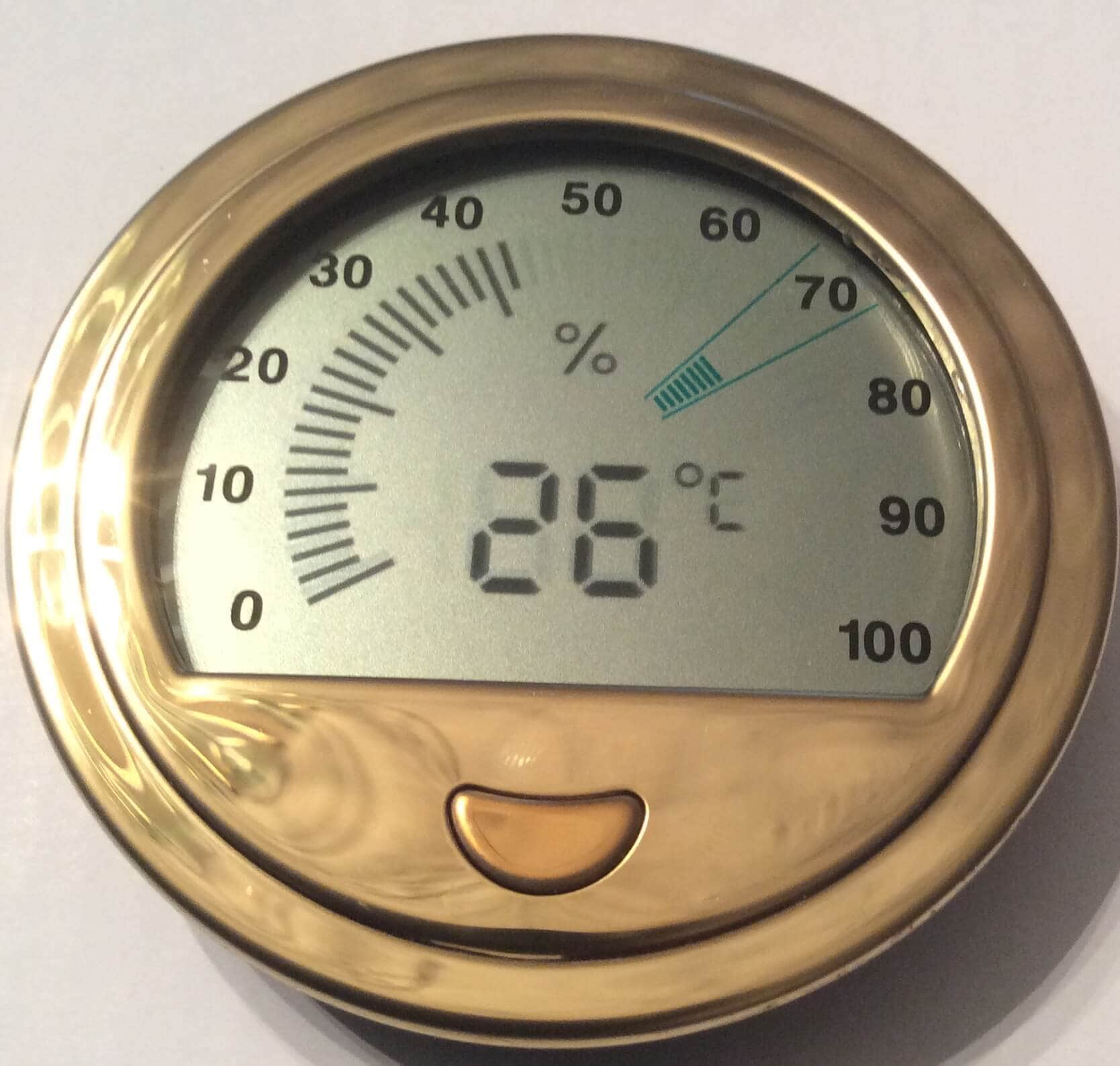 Hygrometer Large Digital For Cabinet Humidors Online In Canada