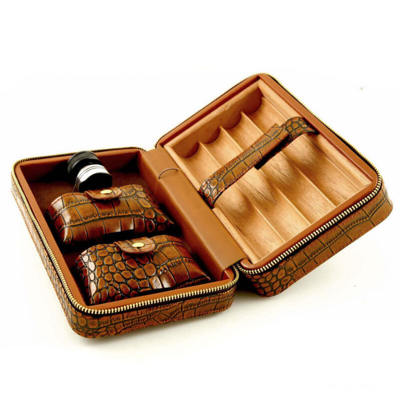 Ultimate Leather Travel Humidor