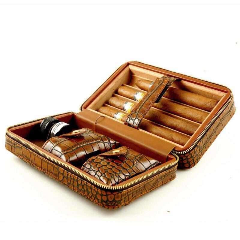 Travel cigar case