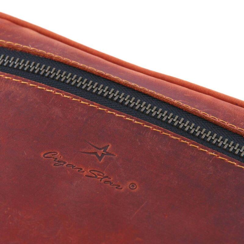 Cigar Star Leather Cigar Case 2