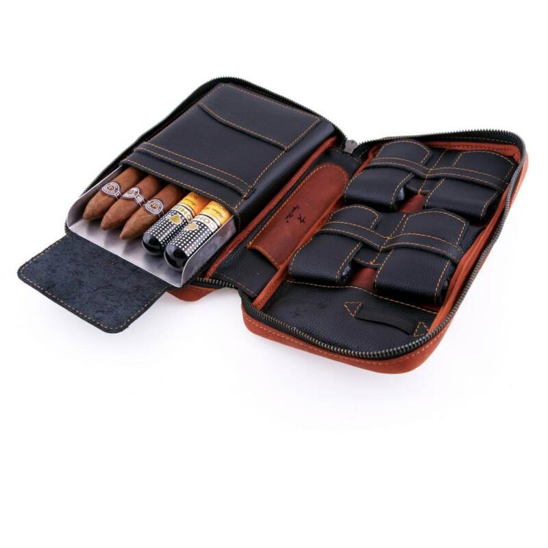 Leather Cigar Case 2