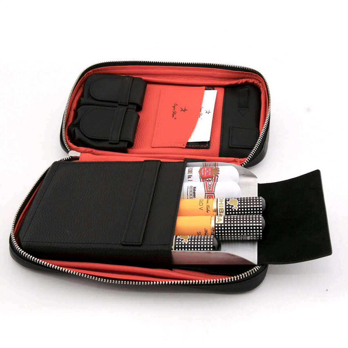 LEATHER CIGAR CASE | Genuine Leather Cigar Travel Case ...