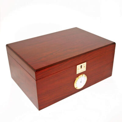 Bubinga Humidor for 120 Cigars by Cigar Star
