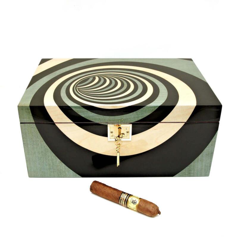 Chava Blu Cigar Star Humidor