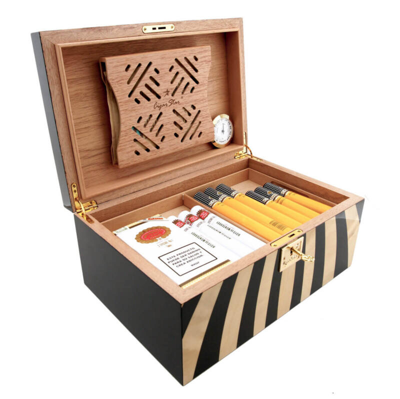 Cigar Star Humidor With Boveda