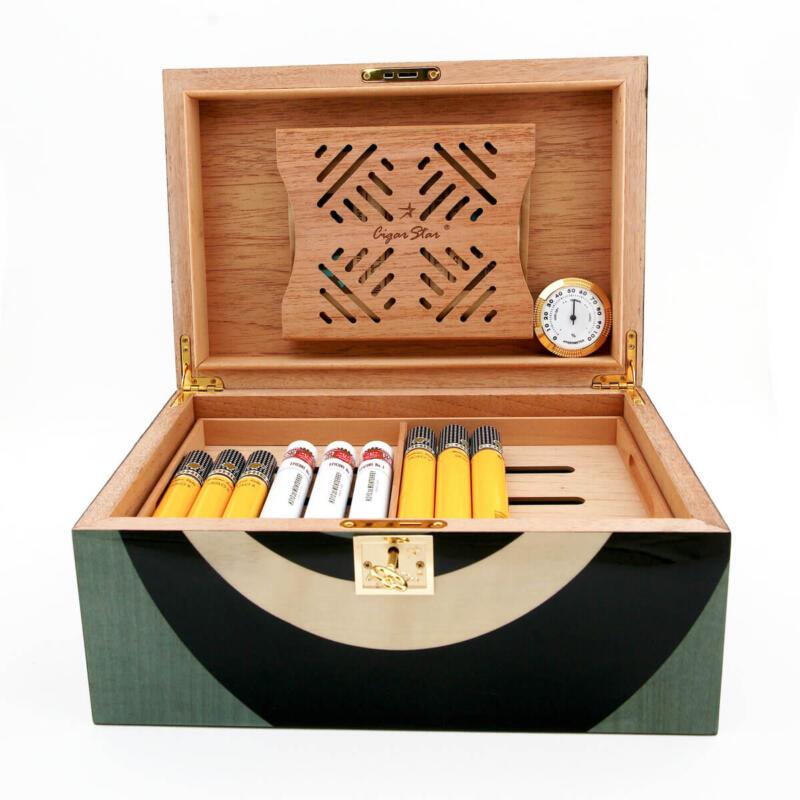cigar humidor blue