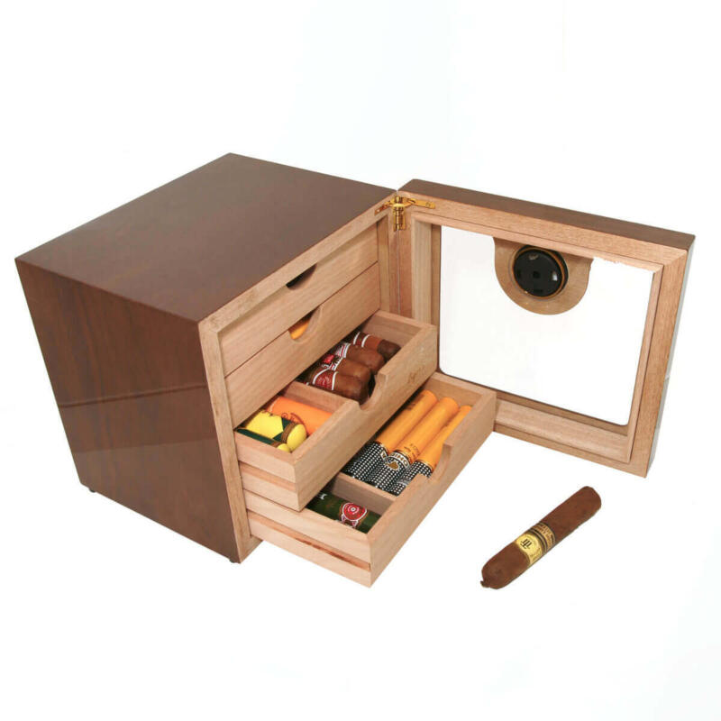 walnut cigar humidor