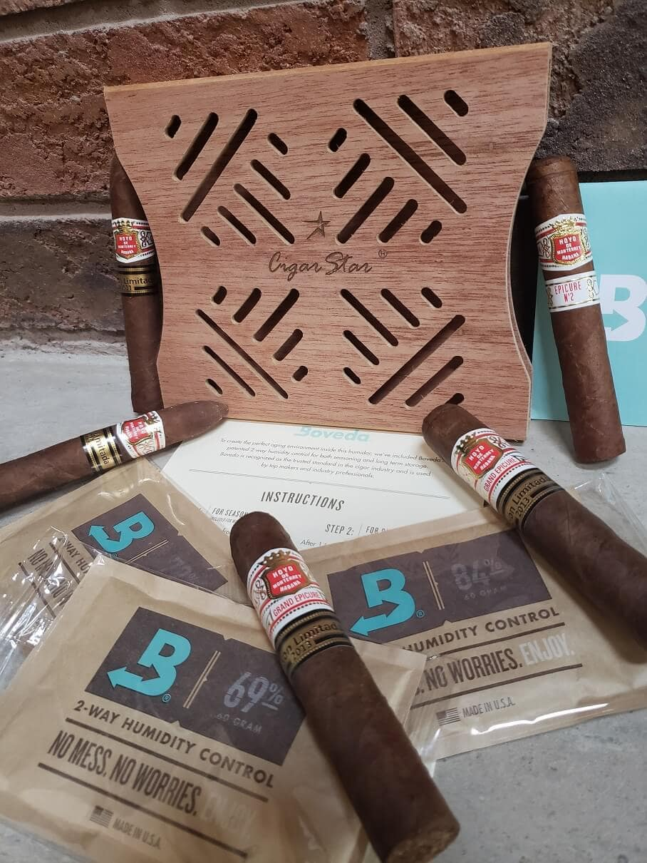 Cigar Star & Boveda collaborate to provide premium storage options for your premium cigars!