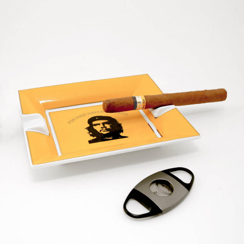 Cuban cigar ashtray