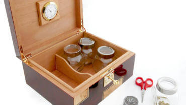 CANNABIS HUMIDOR KEEPS YOUR CANNABIS FRESH AND SAFE!