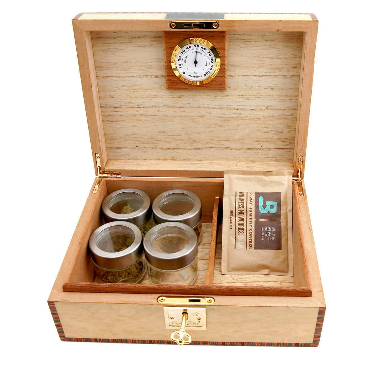 Weed Humdior Artisan Cannabis Humidor Shipped From Canada