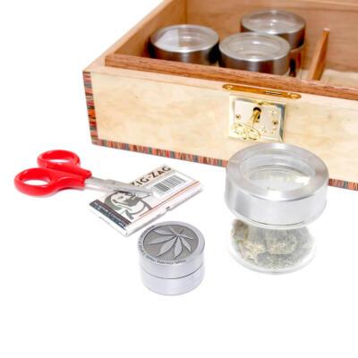 Cannabis Storage humidors