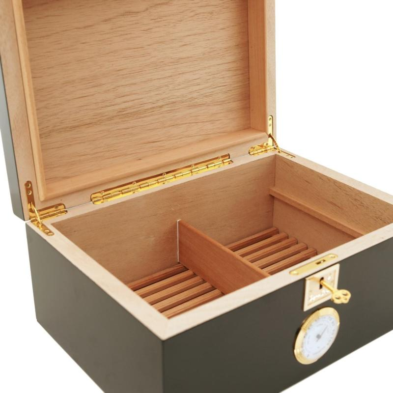 Cigar Star and Boveda cigar humidor