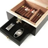 Ucana Cigar Humidor Powered with Boveda by Cigar Star