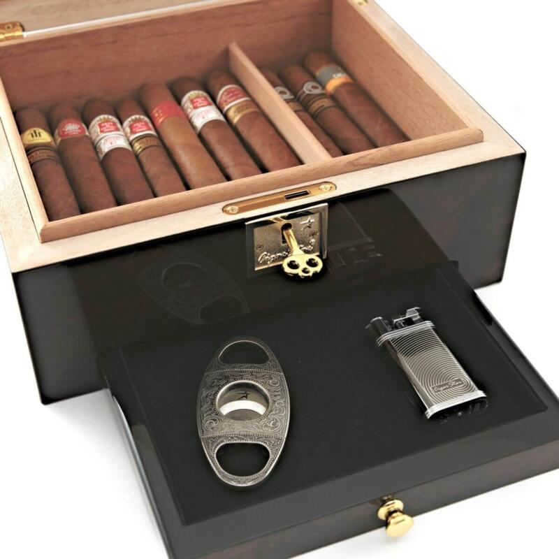 humidor with drawer