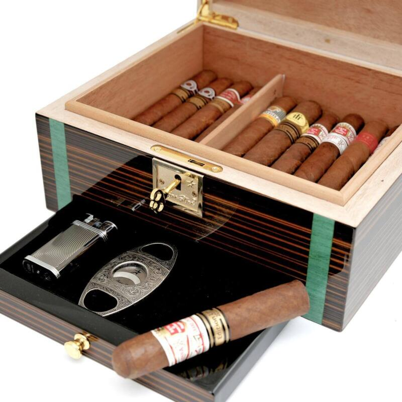 Ucana Cigar Humidor Powered with Boveda