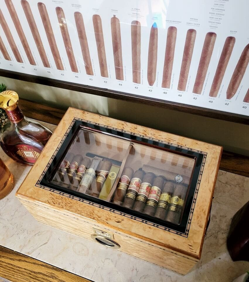 How To Get Optimal RH inside your humidor